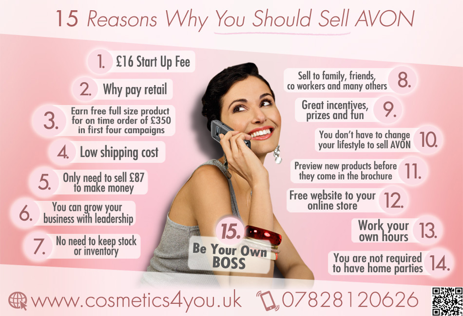 Become an AVON Representative and earn extra money. Shop beauty and fashion products and get free delivery from your local AVON Representative.